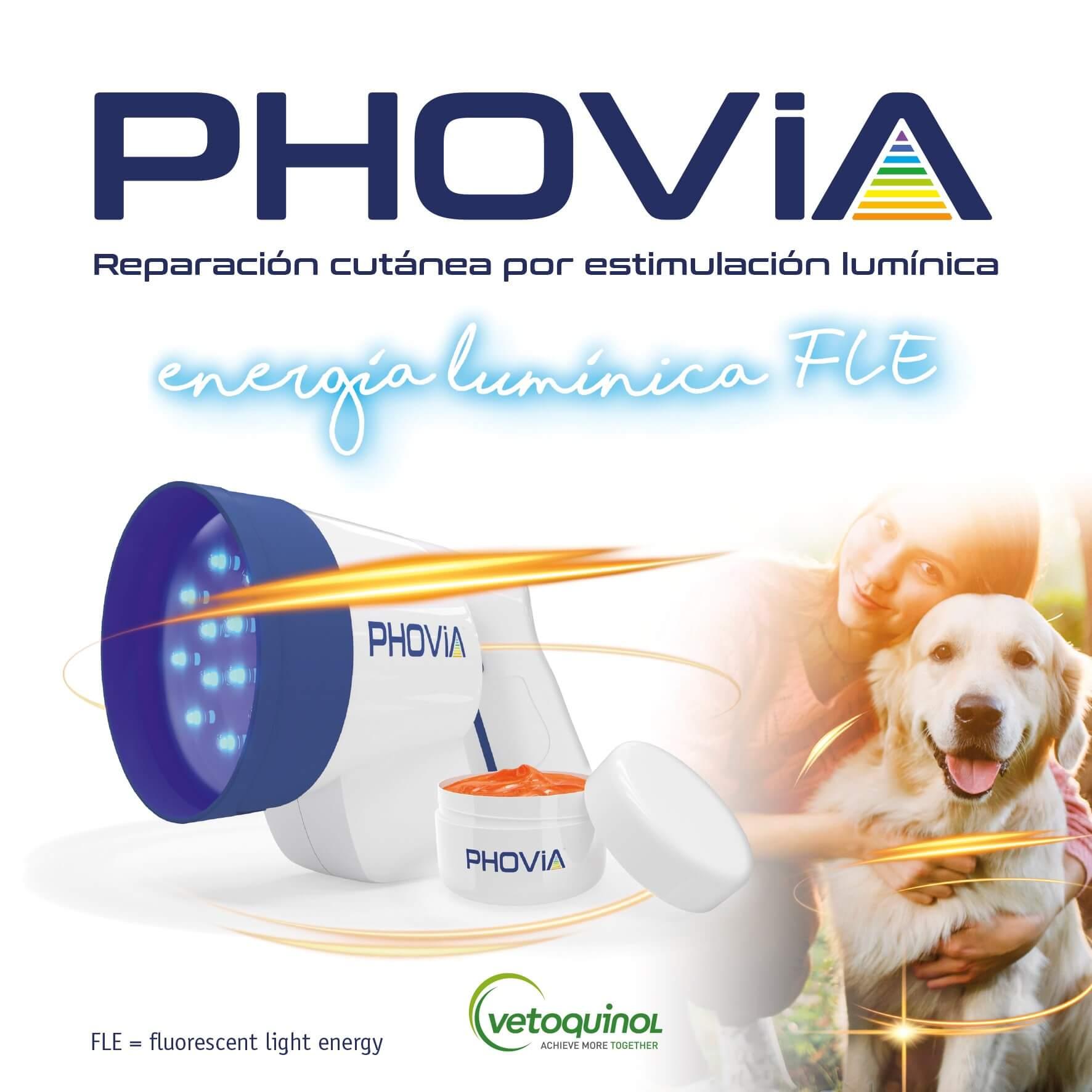 Energía lumínica FLE en Veterinaria – Lanzamiento Phovia